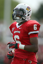 15 September 2012:  Donovan Harden during an NCAA football game between the Eastern Illinois Panthers and the Illinois State Redbirds at Hancock Stadium in Normal IL