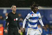 Queens Park Rangers midfielder Eberechi Eze (10) during the EFL Sky Bet Championship match between Queens Park Rangers and Middlesbrough at the Kiyan Prince Foundation Stadium, London, England on 9 November 2019.