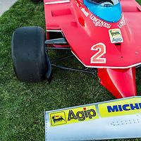 1980 Ferrari 312 T5 Formula One, at the 2012 Santa Fe Concorso