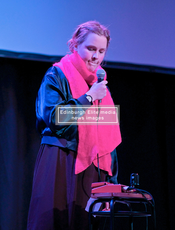 Poppy Ackroyd Performance, Friday 11th May 2018<br /> <br /> Poppy Ackroyd is a performer and composer from London, currently based in Brighton. Classically trained on violin and piano from an early age, she studied piano and composition at Edinburgh University before completing a masters degree in Piano Performance. <br /> <br /> In 2017 she signed to Bjork's label One Little Indian.<br /> <br /> The support act was Maria Rossi from Glasgow performing under the alias Cucina Povera.<br /> <br /> Pictured: Cucina Povera<br /> <br /> (c) Alex Todd | Edinburgh Elite media