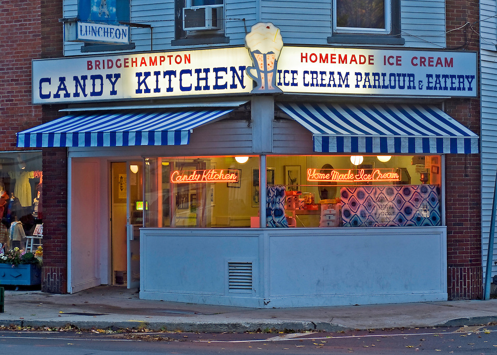 new york bridgehampton candy kitchen south fork long island dusk - Candy Kitchen