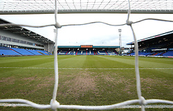 A general view of Sportsdirect.com Park, home of Oldham Athletic - Mandatory by-line: Robbie Stephenson/JMP - 30/12/2017 - FOOTBALL - Sportsdirect.com Park - Oldham, England - Oldham Athletic v Bristol Rovers - Sky Bet League One