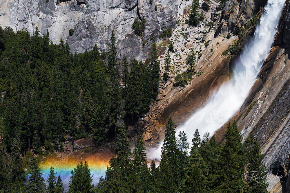 Nevada Fall, Yosemite National Park, California USA