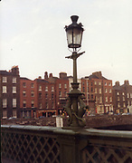 Old Dublin Amature Photos December 1983 WITH, Four Courts, North Quays, Parlement St, Gratton Bridge, Sea Horse, Lantern, Lampost, Chancery Inn, st, Arron Quay, Church, South Quays, Nashs,