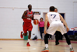 Hameed Ali of Bristol Flyers runs with the ball - Photo mandatory by-line: Robbie Stephenson/JMP - 17/09/2016 - BASKETBALL - SGS Wise Arena - Bristol, England - Bristol Flyers v Worcester Wolves - Exhibition Game