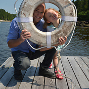 GEORGETOWN, Maine -- 6/30/14 -- Zike Family  portrait. DSC_2355<br /> Photo  ©2014 by Roger S. Duncan <br /> Released for all purposes to Zike Family