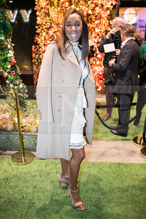 © Licensed to London News Pictures . 23/11/2018. Manchester , UK . Diane Modahl arrives at an opening event of The Ivy restaurant and bar venue in Spinningfields in Manchester City Centre . Photo credit : Joel Goodman/LNP