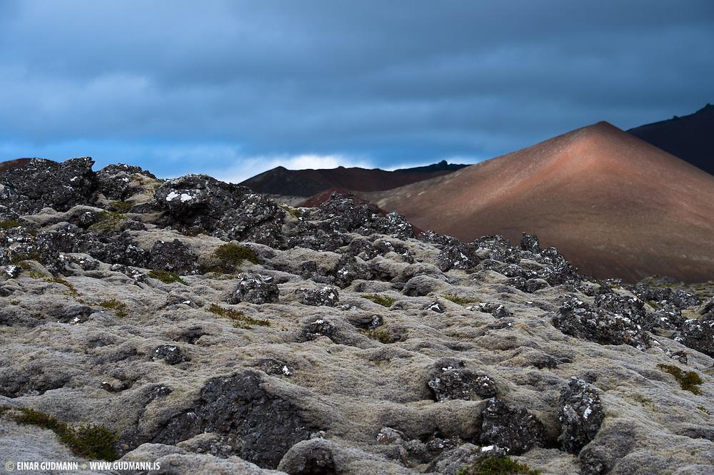Berserkjahraun in West-Iceland.