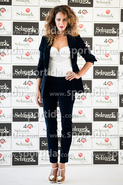 15.10.2015, Circulo de Bellas Artes, Madrid, ESP, Senmark Jubil&auml;ums Fashion Show, im Bild Monica Estarreado // during the Senmark 40th. Aniversary Fashion Show at the Circulo de Bellas Artes in Madrid, Spain on 2015/10/15. EXPA Pictures &copy; 2015, PhotoCredit: EXPA/ Alterphotos/ BorjaB.hojas<br /> <br /> *****ATTENTION - OUT of ESP, SUI*****