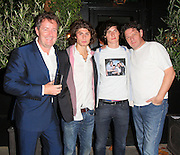 10.OCTOBER.2011. LONDON<br /> <br /> MARCO PIERRE WHITE WITH HIS SONS AND PIERS MORGAN AT THE RE-OPENING LAUNCH PARTY OF THE KENSINGTON PUB THE HANSOM CAB IN LONDON JOINTLY OWNED BY MARCO PIERRE WHITE AND PIERS MORGAN.<br /> <br /> BYLINE: EDBIMAGEARCHIVE.COM<br /> <br /> *THIS IMAGE IS STRICTLY FOR UK NEWSPAPERS AND MAGAZINES ONLY*<br /> *FOR WORLD WIDE SALES AND WEB USE PLEASE CONTACT EDBIMAGEARCHIVE - 0208 954 5968*