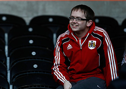 Bristol city fans- Photo mandatory by-line: Matt Bunn/JMP  - Tel: Mobile:07966 386802 19/04/2013 - Hull City v Bristol City - SPORT - FOOTBALL - Championship -  Hull- KC Stadium