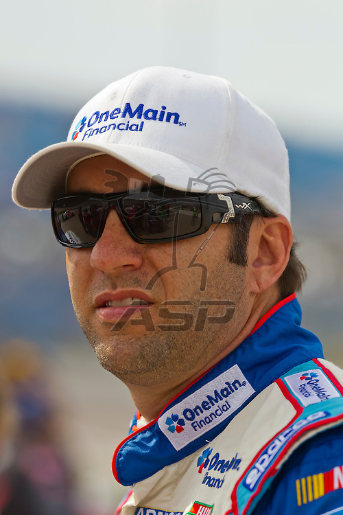 NEWTON, IA - MAY 19, 2012:  Elliot Sadler (2) wins the pole for the Pioneer Hi-Bred 250 at the Iowa Speedway in Newton, IA.