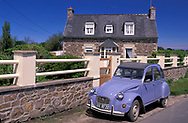 Renault near Paimpol,Brittany,France