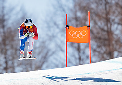 13.02.2018, Jeongseon Alpine Centre, Pyeongchang, KOR, PyeongChang 2018, Ski Alpin, Herren, Kombination, im Bild Maxence Muzaton (FRA) // Maxence Muzaton of France during the Mens Ski Men's Alpine Combined of the Pyeongchang 2018 Winter Olympic Games at the Jeongseon Alpine Centre in Pyeongchang, South Korea on 2018/02/13. EXPA Pictures © 2018, PhotoCredit: EXPA/ Johann Groder
