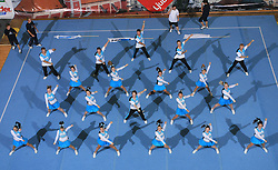 Team Jam, Denmark during Mixed senior at second day of European Cheerleading Championship 2008, on July 6, 2008, in Arena Tivoli, Ljubljana, Slovenia. (Photo by Vid Ponikvar / Sportal Images).