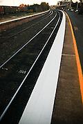 Rail Tracks, Outback NSW, Australia