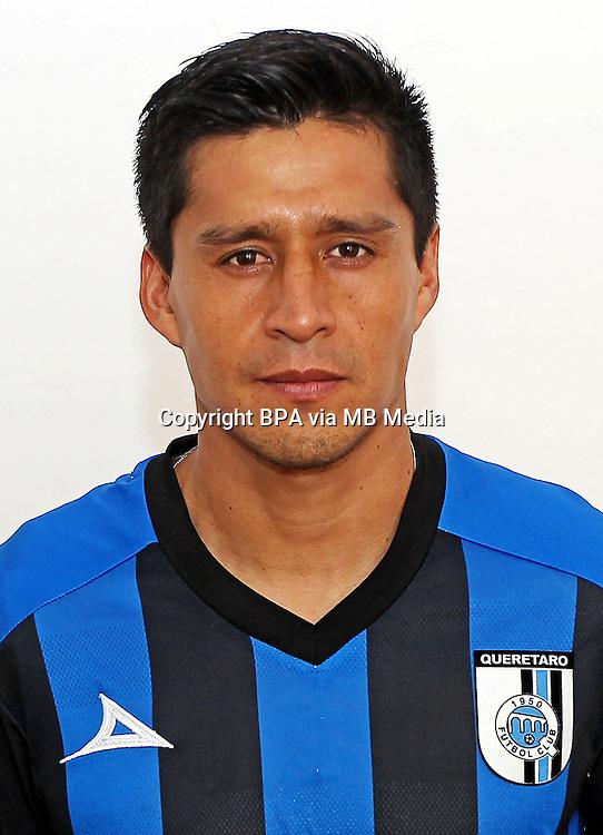 Mexico League - BBVA Bancomer MX 2014-2015 - <br /> Gallos Blancos - Queretaro Futbol Club / Mexico - <br /> Ricardo Osorio
