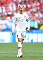 Cristiano Ronaldo (Portugal)<br /> Moskau, 20.06.2018, FIFA Fussball WM 2018 in Russland, Vorrunde, Portugal - Marokko 1:0<br /> Norway only