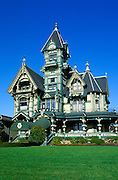 The Carson Mansion, Eureka, California USA