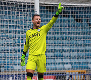 Chesterfield goalkeeper Tommy Lee during the Sky Bet League 1 match between Millwall and Chesterfield at The Den, London, England on 29 August 2015. Photo by Bennett Dean.