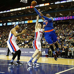 Detroit Pistons v New York Knicks | NBA O2 London |17 January 2013