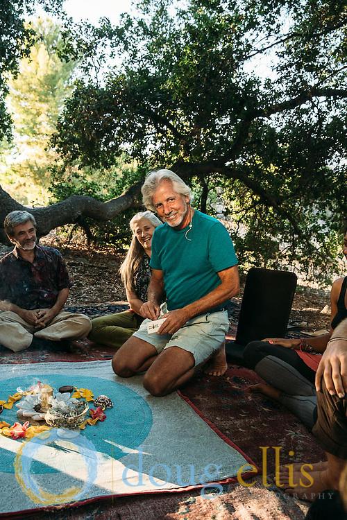 Professional photos in Ojai for the Ojai Foundation, Ojai CA.