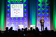 The Linux Foundation host its Open Networking Summit 2016 at Santa Clara Convention Center in Santa Clara, California, on March 16, 2016. (Stan Olszewski/SOSKIphoto)