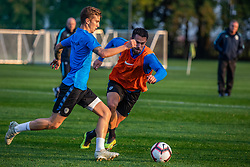 Luka Zahovic during practice session of Slovenian national football team, on October 8, 2018 in National Football Center Brdo, Kranj, Slovenia. Photo by Urban Meglic / Sportida