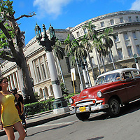 Alberto Carrera, The Capitol, Capitol Square, Havana, Cuba, America<br />
