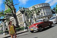 Alberto Carrera, The Capitol, Capitol Square, Havana, Cuba, America<br /> <br /> EDITORIAL USE ONLY