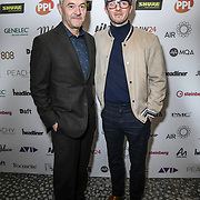 Stephen Street and son attend The Music Producers Guild Awards at Grosvenor House, Park Lane, on 27th February 2020, London, UK.