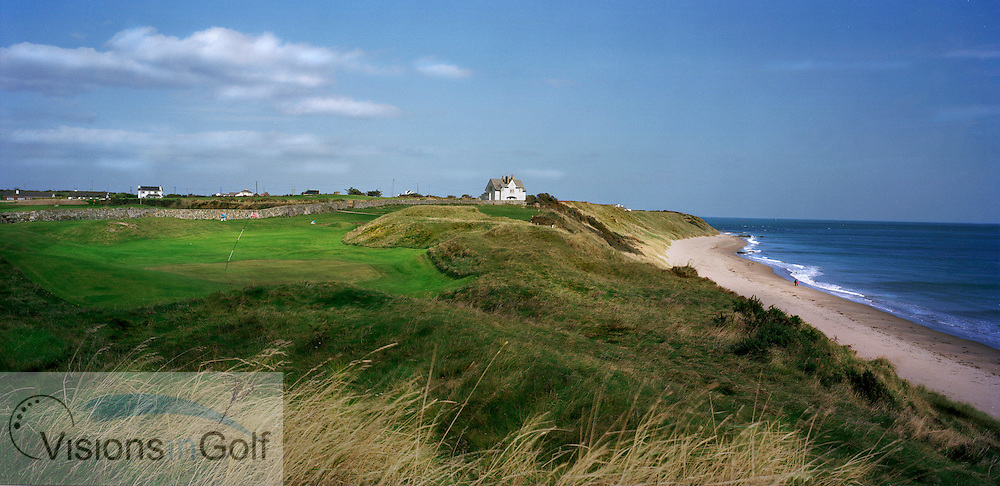 St Helen's Bay GC 17th hole <br /> Ireland<br /> Photo Visions In Golf/Christer Hoglund