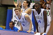 LIGNANO SABBIADORO, 08 LUGLIO 2015<br /> BASKET, EUROPEO MASCHILE UNDER 20<br /> ITALIA-BOSNIA ERZEGOVINA<br /> NELLA FOTO: Gabriele Bennati Nicola Akele<br /> FOTO FIBA EUROPE/CASTORIA