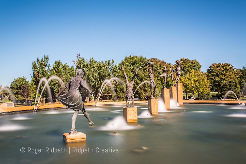 Kansas City's Children's Fountain day