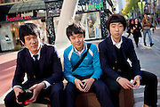 Scholars resting on a bench in the city center of Daegu. Daegu, also known as Taegu and officially the Daegu Metropolitan City, is the third largest metropolitan area in South Korea, and by city limits, the fourth largest city with over 2.5 million people. The IAAF World Championships in Athletics will take place in Daegu from the 27th of August till the 4th of September 2011.