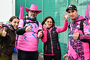 Stade Francais fans ahead of the European Rugby Challenge Cup match between Gloucester Rugby and Stade Francais at BT Murrayfield, Edinburgh, Scotland on 12 May 2017. Photo by Kevin Murray.