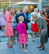 Waterloo, 29-06-2017 <br /> <br /> <br /> 80th birthday celebration of Queen Paola of Belgium with members of the Royal Family at Queen Elisabeth Music Chapel of Waterloo.<br /> <br /> <br /> COPYRIGHT: ROYALPORTRAITS EUROPE/ BERNARD RUEBSAMEN