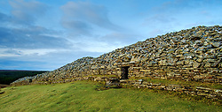 The Grey Cairns of Camster are two large Neolithic chambered cairns located about 8.5 miles (13.7 km) south of Watten and 5 miles (8.0 km) north of Lybster in Caithness, Highlands of Scotland<br /> <br /> (c) Andrew Wilson | Edinburgh Elite media