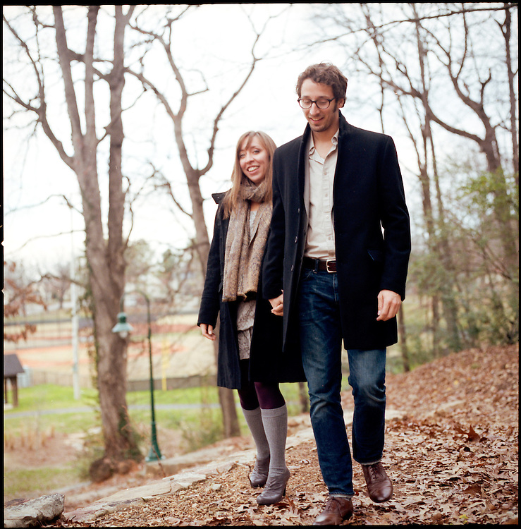 BIRMINGHAM, AL – DECEMBER 11, 2011: Stephen and Annie Devries.