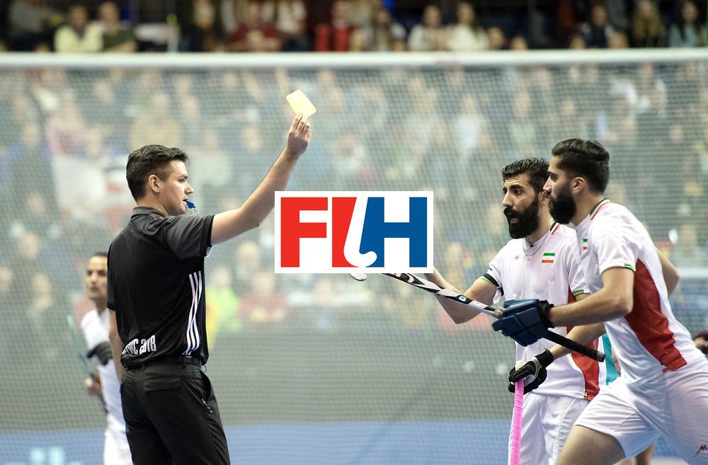 BERLIN - Indoor Hockey World Cup<br /> Bronze: Iran - Australia<br /> foto: Ben Goentgen<br /> WORLDSPORTPICS COPYRIGHT FRANK UIJLENBROEK