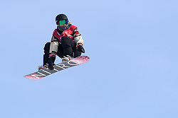 February 19, 2018 - Pyeongchang, SOUTH KOREA - 180219 Laurie Blouin of Canada competes in the Women's Big Air Qualification during day ten of the 2018 Winter Olympics on February 19, 2018 in Pyeongchang..Photo: Carl Sandin / BILDBYRN / kod CS / 57999_306 (Credit Image: © Carl Sandin/Bildbyran via ZUMA Press)