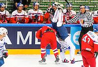 Antoine Roussel - 07.05.2015 - Republique Tcheque / France - Championnat du Monde de Hockey sur Glace <br /> Photo : Xavier Laine / Icon Sport