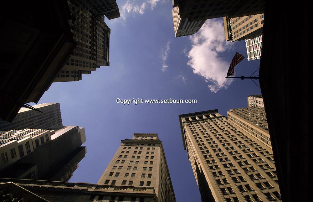 Bourse, stock exchange NYSE  Manathan New York  Usa ///  Bourse, stock exchange  Manathan New York  Usa   ///  L004961  /  P100454