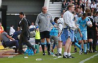 Roy Keane heads back to the dugout. Derby County v Sunderland