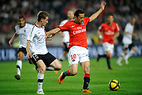FOOTBALL - FRENCH CHAMPIONSHIP 2010/2011 - L1 - PARIS SAINT GERMAIN v VALENCIENNES FC - 30/04/2011 - PHOTO GUY JEFFROY / DPPI - NENE (PSG)