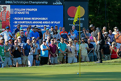 September 1, 2018 - Norton, Massachusetts, United States - Jason Day chips on to the 11th green during the second round of the Dell Technologies Championship. (Credit Image: © Debby Wong/ZUMA Wire)