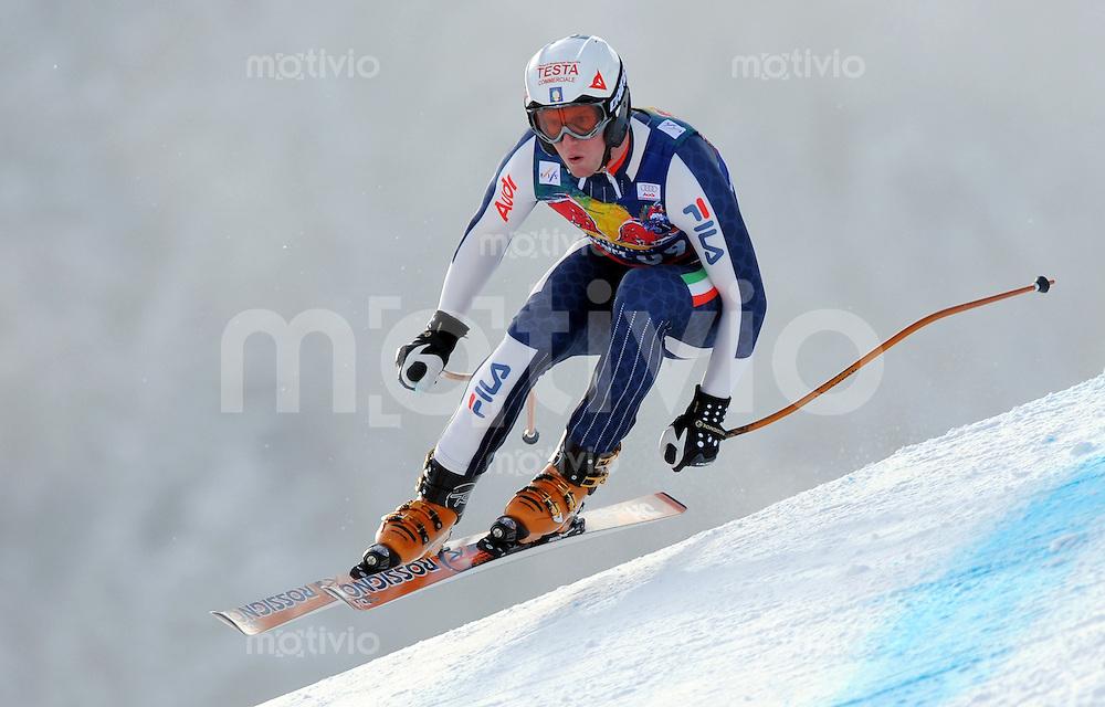 Ski Alpin;  Saison 2007/2008  22.01.2009 69. Hahnenkamm Rennen,  Abfahrt   2. Training   Werner Hell (ITA)