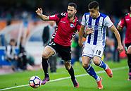 Real Sociedad de Futbol vs Deportivo Alaves