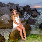 Zarlengo Senior Beach Photos
