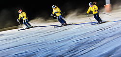 23.01.2017, Lechnerberg, Kaprun, AUT, Freestyle Night Kaprun, im Bild Skischullehrer // Athletes and Ski Teachers show their skills at the Ski- Snowboardshow for Tourists and Locals in Kaprun, Austria on 2017/01/23. EXPA Pictures © 2017, PhotoCredit: EXPA/ JFK